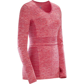 Salomon Elevate Move'On - T-shirt manches longues running Femme - rose